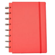 Martha Stewart Discbound™ Customizable Notebook, Junior-Size, Persimmon (51062)