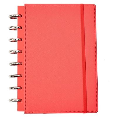 Martha Stewart Discbound™ Customizable Notebook, Junior-Size, Persimmon (51062)