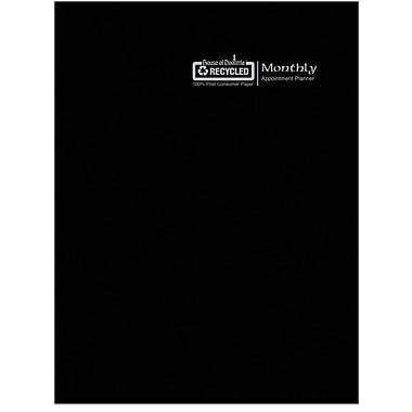 2018 House of Doolittle 7 x 10 Economy Monthly Planner Stitched Black (2606-02)