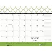 2018 House of Doolittle 22 x 17 Desk Pad Calendar Geometric (149)