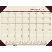 2018 House of Doolittle 22 X 17 Desk Pad Calendar EcoTones Tan (124-43)