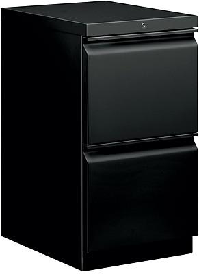 HON 2 Drawer Vertical File Cabinet, Black, 20