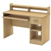 "South Shore™ Axess 37"" x 42"" x 20"" L Desk, Natural Maple"