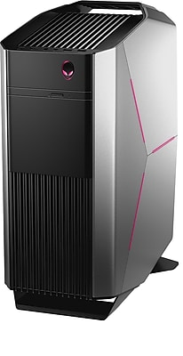Alienware Aurora AWAUR6-5451SLV Desktop (Intel Core i5, 1TB HDD, 8GB RAM, Windows 10, NVIDIA GeForce GTX 1060 Graphics)