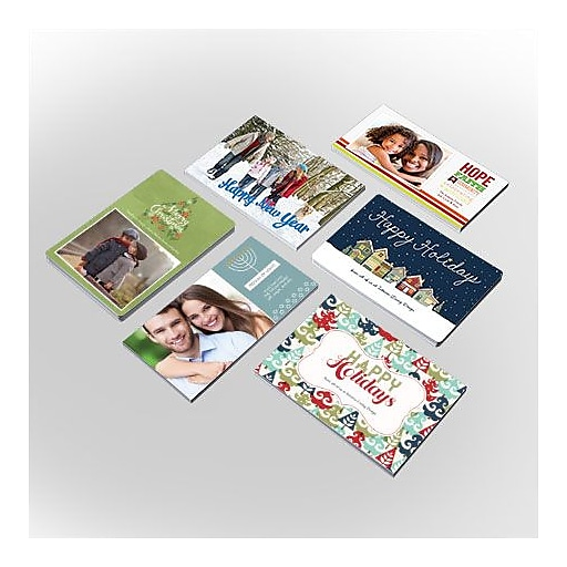 Custom holiday photo cards staples httpsstaples 3ps7is m4hsunfo
