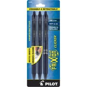 Pilot FriXion Ball Erasable Gel-Ink Pens, Fine Point (0.7mm), Navy, 3/Pk (31468)