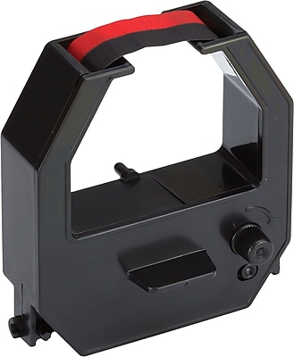 Pyramid Replacement Ribbon for 2650Pro & 2500 Time Clocks, Black, 1 Each (43079)