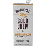 Steep 18 Breakfast Blend Shelf Stable Cold Brew Coffee, 32oz