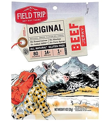 Field Trip Original Beef Jerky, 1 oz, 12/CT