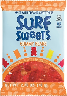 Surf Sweets® Gummy Bears 2.75oz, 12/Box
