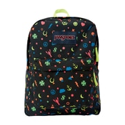JanSport Superbreak Neon Charmed Life