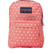 Jansport Digibreak Backpack, Coral Sparkle White Dots (T50F0NR)