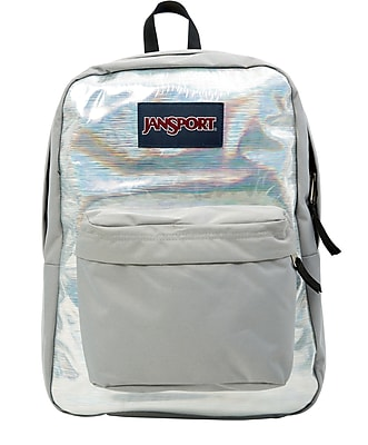 JanSport High Stakes Silver Hologram