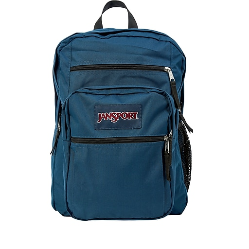 08be30a9e8fa Jansport Big Student Backpack, Navy Blue (JS00TDN7003)