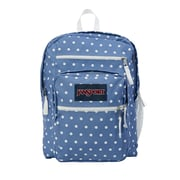 JanSport Big Student Bleached Denim White Dots