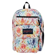 JanSport Digital Student Backpack, Rainbow Tie Dye Swirls