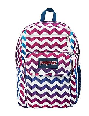 JanSport Digital Student Backpack, Shadow Chevron (JS00T69D35Q)