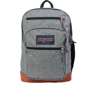 JanSport Cool Student Backpack, Grey Letterman Poly
