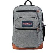 JanSport Cool Student Backpack, Grey Letterman Poly (JS0A2SDD3CL)