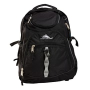 High Sierra Access Black Polyester Backpack (53671-1041)