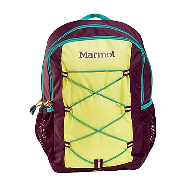 Marmot Kid's Arbor Pack, Green Spice/Deep Purple