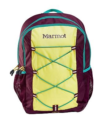 Marmot Kid's Arbor Pack, Green Spice/Deep Purple