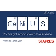 Staples Science Gift Card
