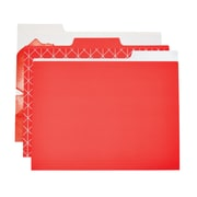 Martha Stewart Horizontal File Folder, Letter-size, Persimmon, 6-pack (44922)