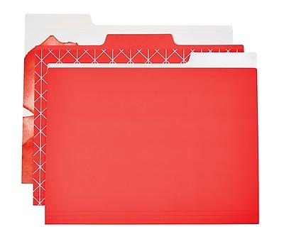 Martha Stewart Horizontal File Folder, Letter-size, Persimmon, 6-pack (44922)