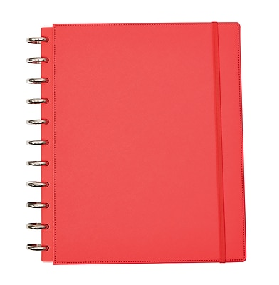 Martha Stewart Discbound™ Customizable Notebook, Letter-Size, Persimmon (51059)