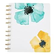 Martha Stewart Discbound™ Customizable Notebook, Letter-Size, Blue Floral/Geo (51060)