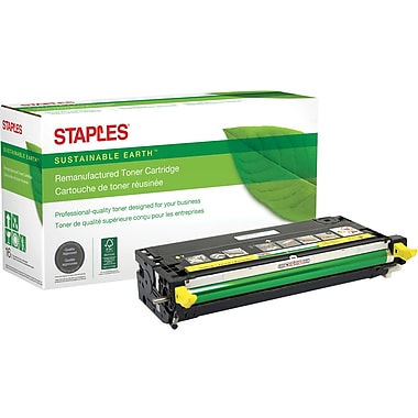 Sustainable Earth by Staples Remanufactured Yellow Toner Cartridge, Dell 3115 (310-8401, XG724), High Yield