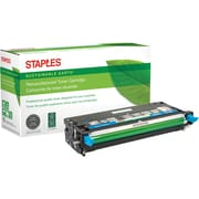 Staples® Remanufactured Cyan Toner Cartridge, Dell 3115 (310-8094, XG722), High Yield