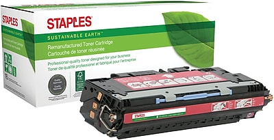 Staples® Remanufactured Color Laser Toner Cartridge, HP 311A (Q2683A), Magenta