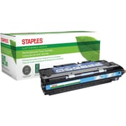Sustainable Earth by Staples® Remanufactured Cyan Laser Toner Cartridge, HP 309A (Q2671A)
