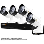 Defender® Wireless HD 1080p 4 Channel 1 TB DVR Security System, 4 Bullet Cameras (WHD1T4B4)