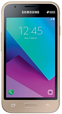 Samsung Galaxy J1 Mini Prime J106M Unlocked GSM 4G LTE Quad-Core Dual-SIM Phone - Gold