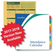 ComplyRight 2017-2018 Fiscal Attendance Calendar Kit