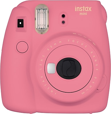 Instax Mini 9 Instant Camera, Flamingo Pink