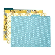 DwellStudio Peacock File Folder Set, 6 pack (45154)