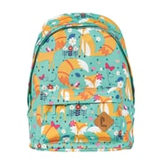 Staples Quilted Rucksack Backpack with Pink and Green Print (51045)