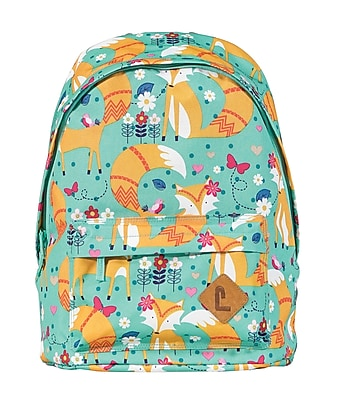 """Staples Kids Backpack 16"""" Foxes"""