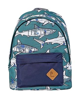 """Staples Kid's 16"""" Sharks Backpack (51023)"""