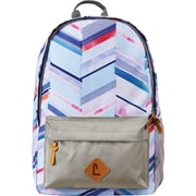 "Staples Grey Chevron 18"" Classic Backpack (51022)"