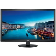AOC e2770She 27-Inch Class LED-Lit Monitor, 1920 x 1080, 250 cd/m2, 2ms, 20M:1DCR, VGA (2) HDMI, Wall Mountable