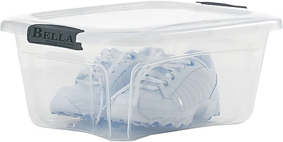 Bella Storage Solution® 5.5 Quart Plastic Locking Lid Container