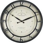FirsTime® Kensington Whisper Round Wall Clock, Bronze, 18""
