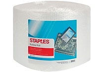 Staples® 3/16' Bubble Roll, 12'x175' (27162)