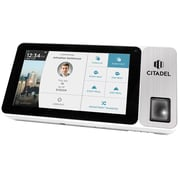 "Citadel™ OB2000 Tablet Time Clock with Camera, 7"" Touch Screen, and Fingerprint, RFID, and PIN Punching Capability"