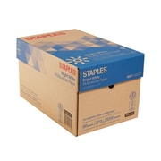 "Staples 8.5"" x 11"" Multipurpose Paper, 22 lbs., 98 Brightness, 500/Ream, 10 Reams/Carton (22098)"